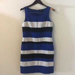 Beautiful Banana Republic linen stripe dress